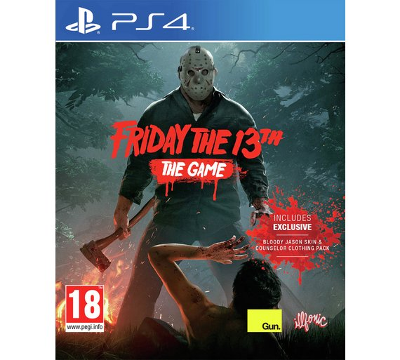 buy friday the 13th ps4 game ps4 games argos