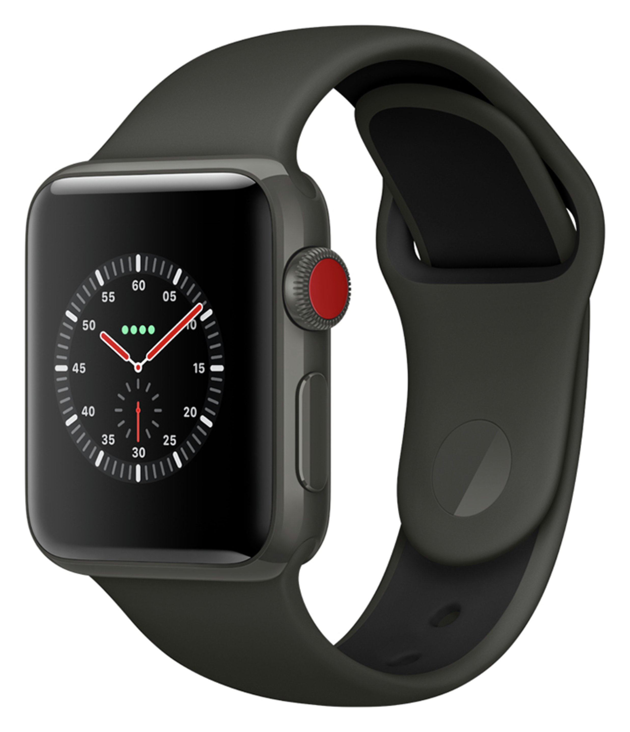 Apple Apple Watch S3 Edition Cellular 38mm - Grey Ceramic