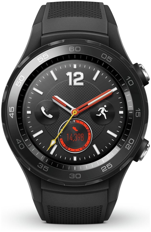 Image of Huawei Watch 2 4G Sport Smart Watch - Black.