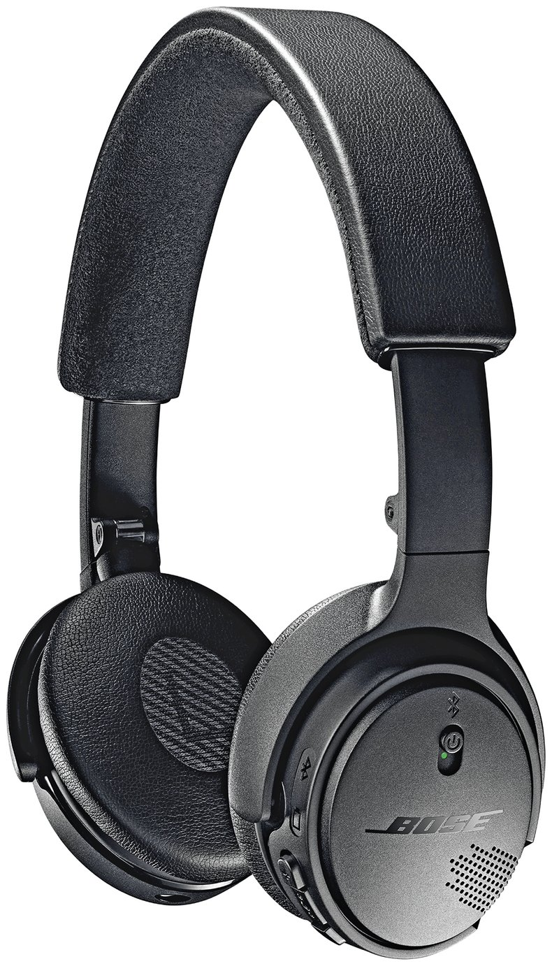 Bose soundlink on-ear bluetooth headphones with microphone triple black review