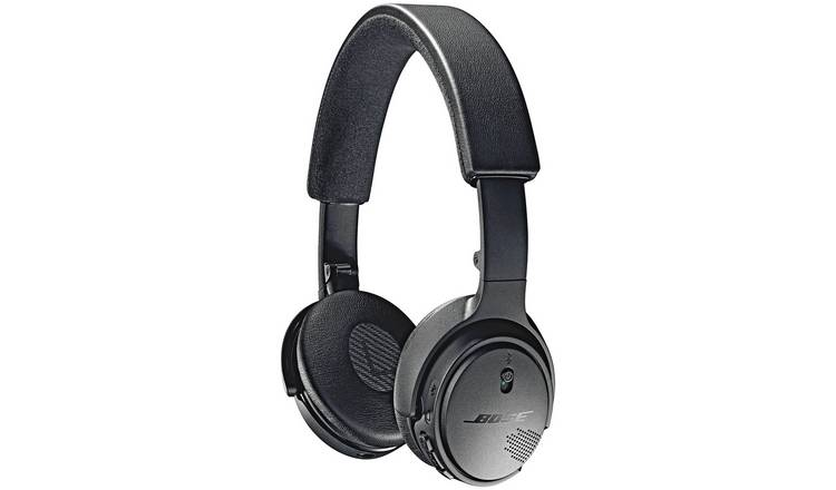 Buy Bose Soundlink On Ear Wireless Headphones Black Headphones And Earphones Argos