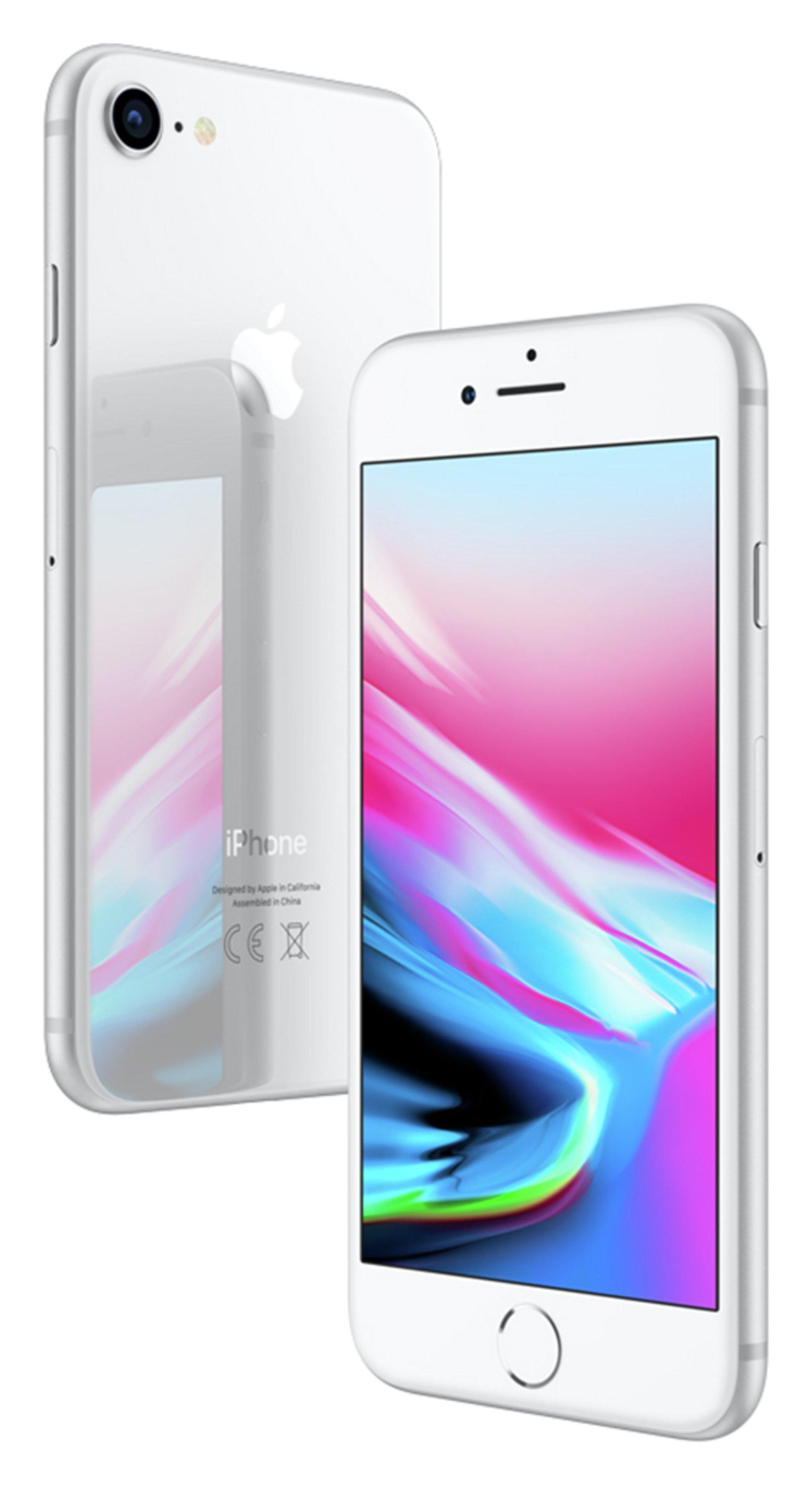 Apple Sim Free iPhone 8 256GB Mobile Phone - Silver