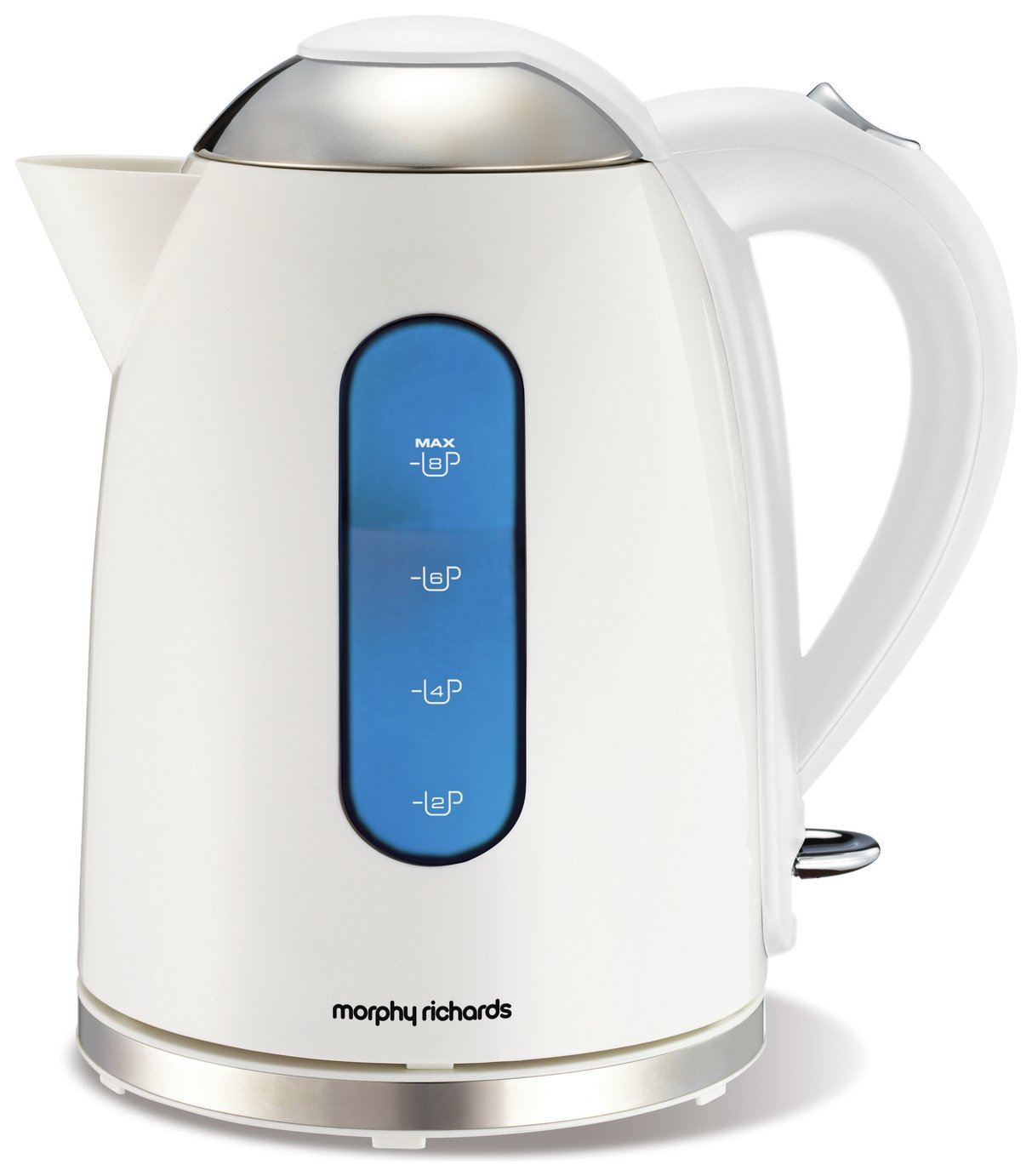 morphy richards 43179 accents dome kettle white. Black Bedroom Furniture Sets. Home Design Ideas
