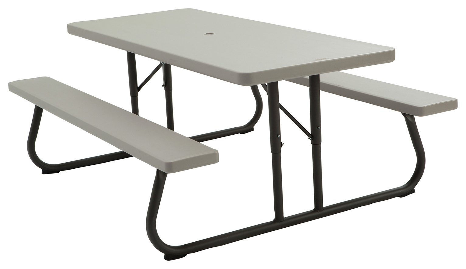 Lifetime Rectangular 6 Person Picnic Table - Grey