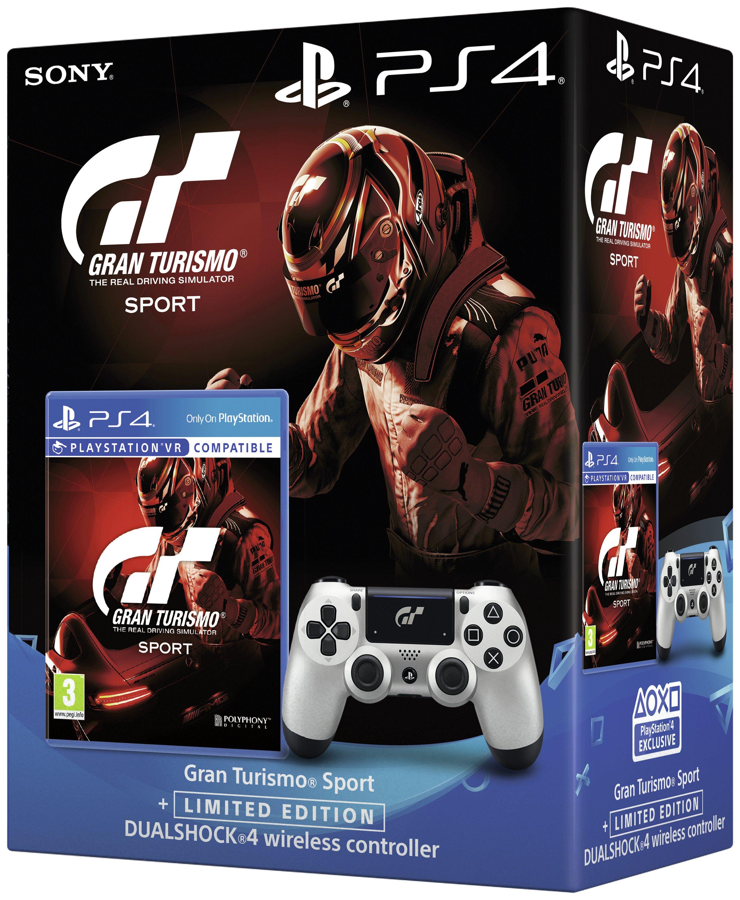 Gran Turismo Sport Limited Edn Dualshock 4 PS4 Game Bundle