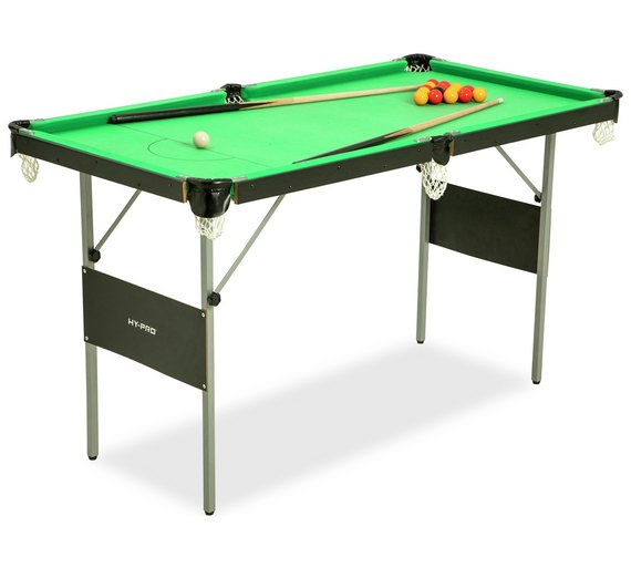 Snooker and Pool Table - 4ft 6in Snooker And Pool Table Is ...