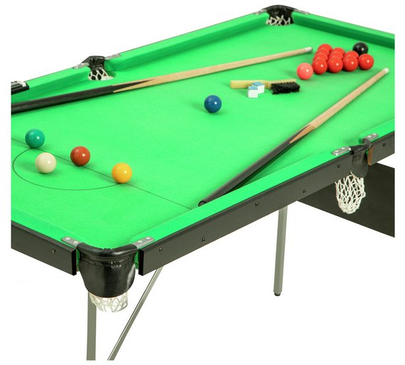 4ft 6in Snooker And Pool Table Is