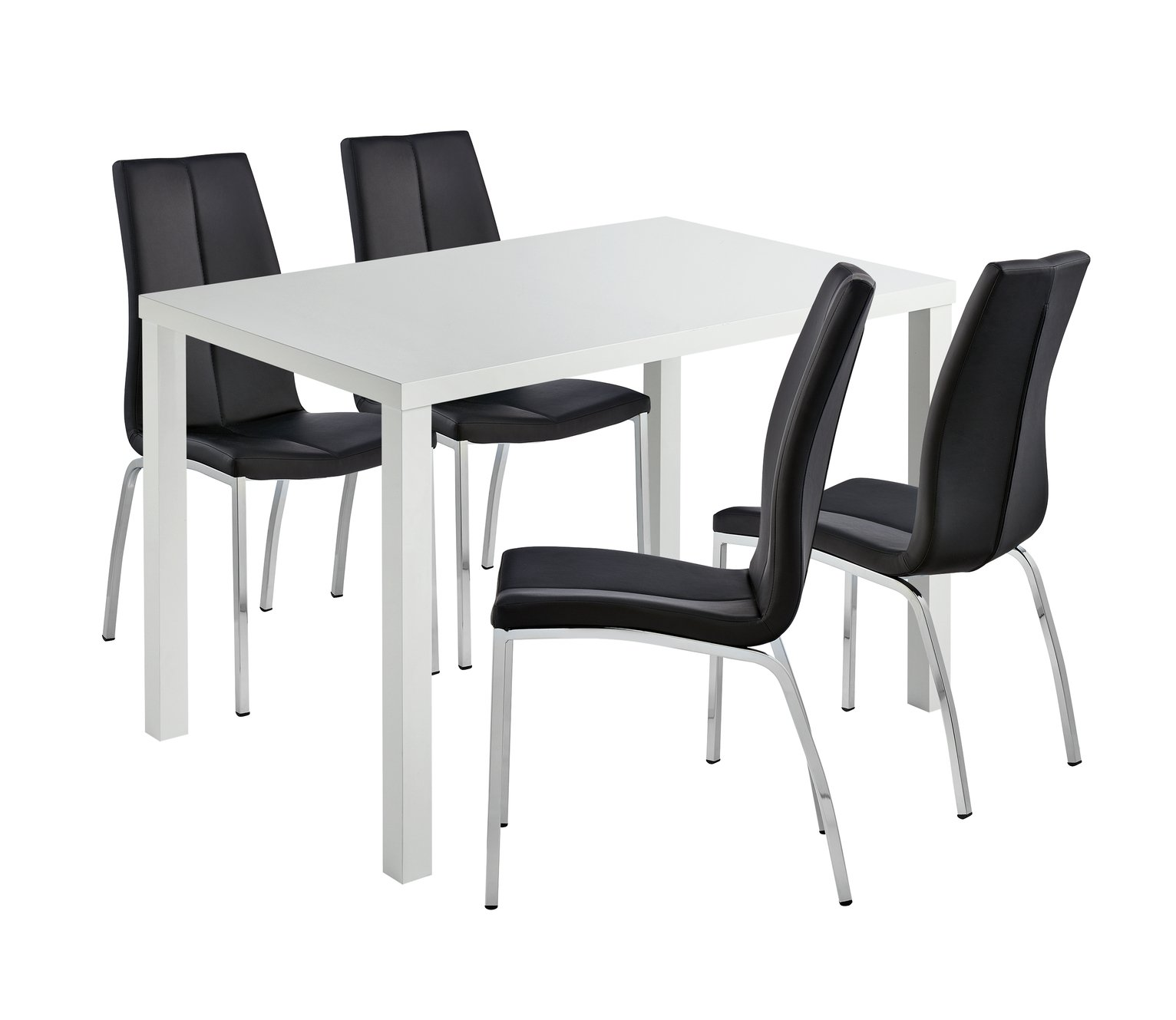 Argos Table And Chairs In Sale: SALE On Hygena Lyssa Dining Table & 4 Milo Chairs