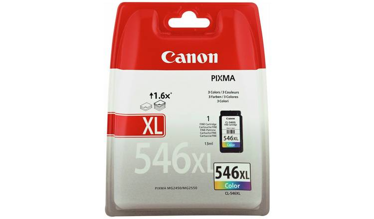 Buy Canon CL-546 XL Ink Cartridge - Colour | Printer ink | Argos