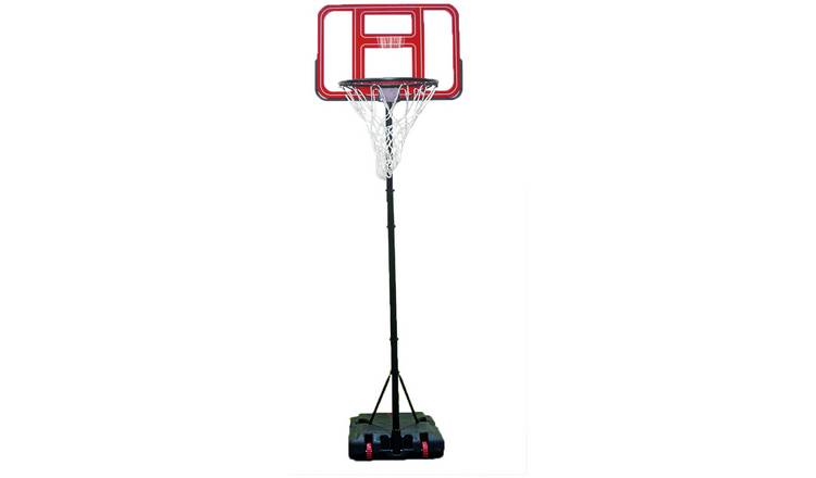 Opti Clear Portable Adjustable Basketball Hoop and Backboard