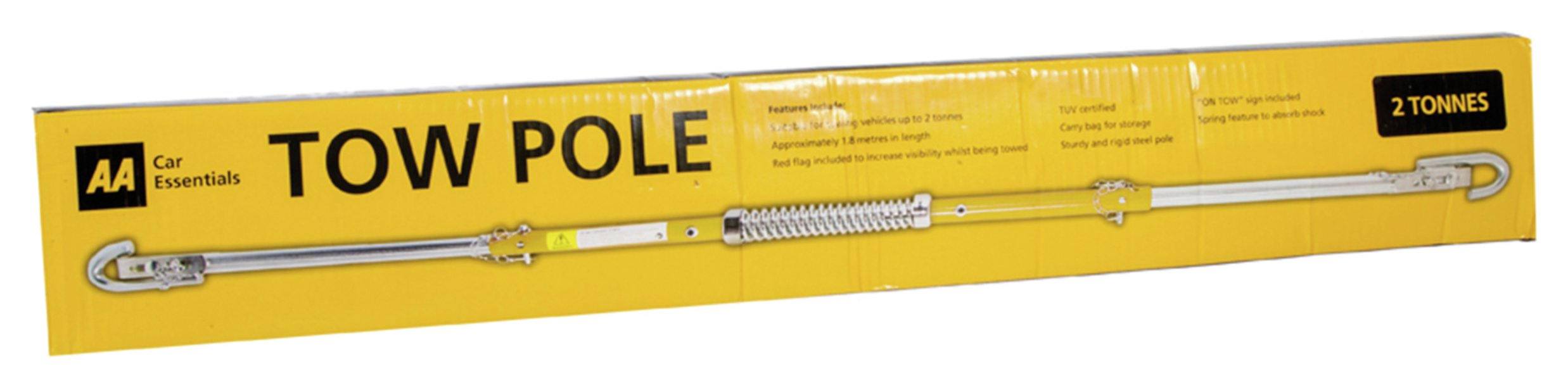 Image of AA 1.8m Tow Pole - 2 Tonnes