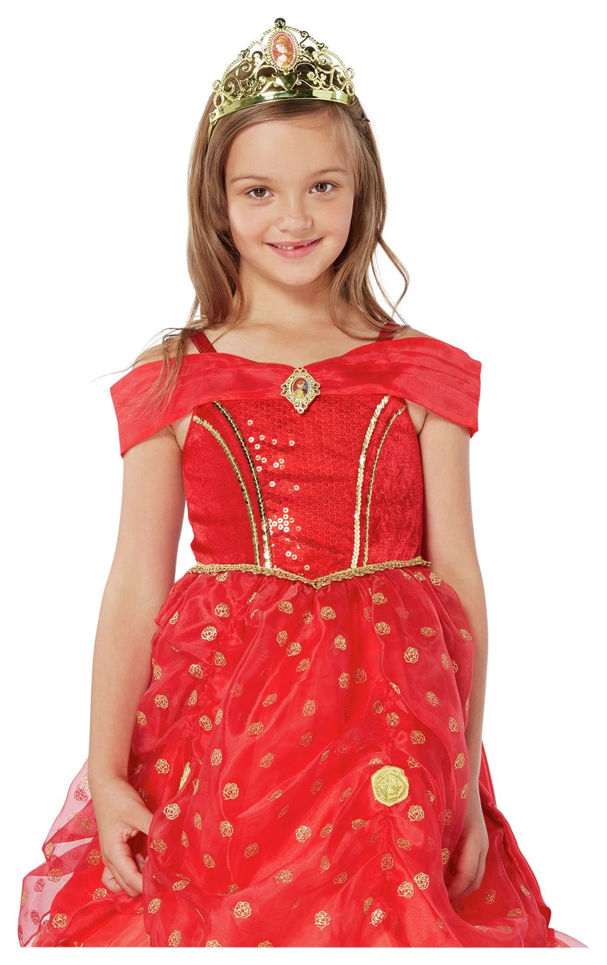 Disney Princess Belle Fancy Dress Costume - 5-6 Years