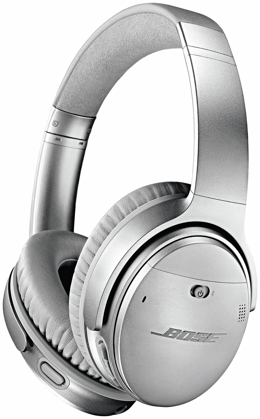 Bose QuietComfort QC35 II Over-Ear Headphones - Silver