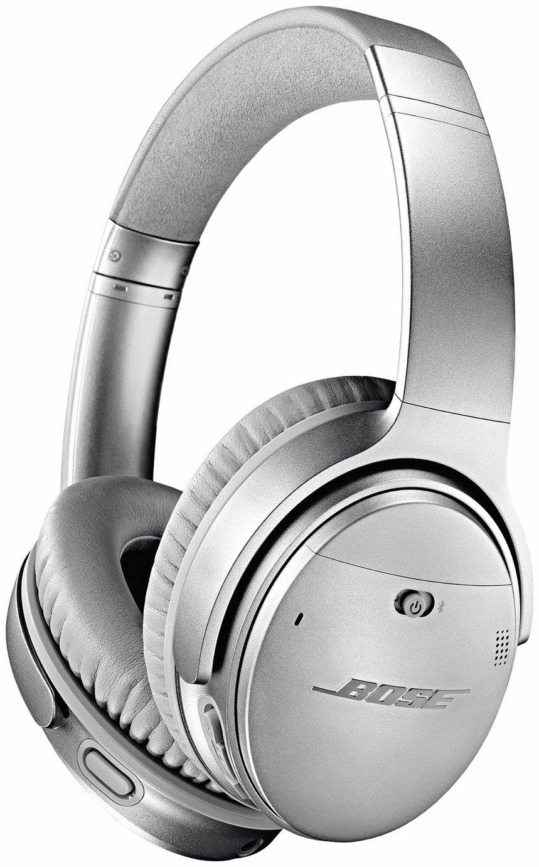 Image of Bose QuietComfort QC35 II Over-Ear Headphones - Silver