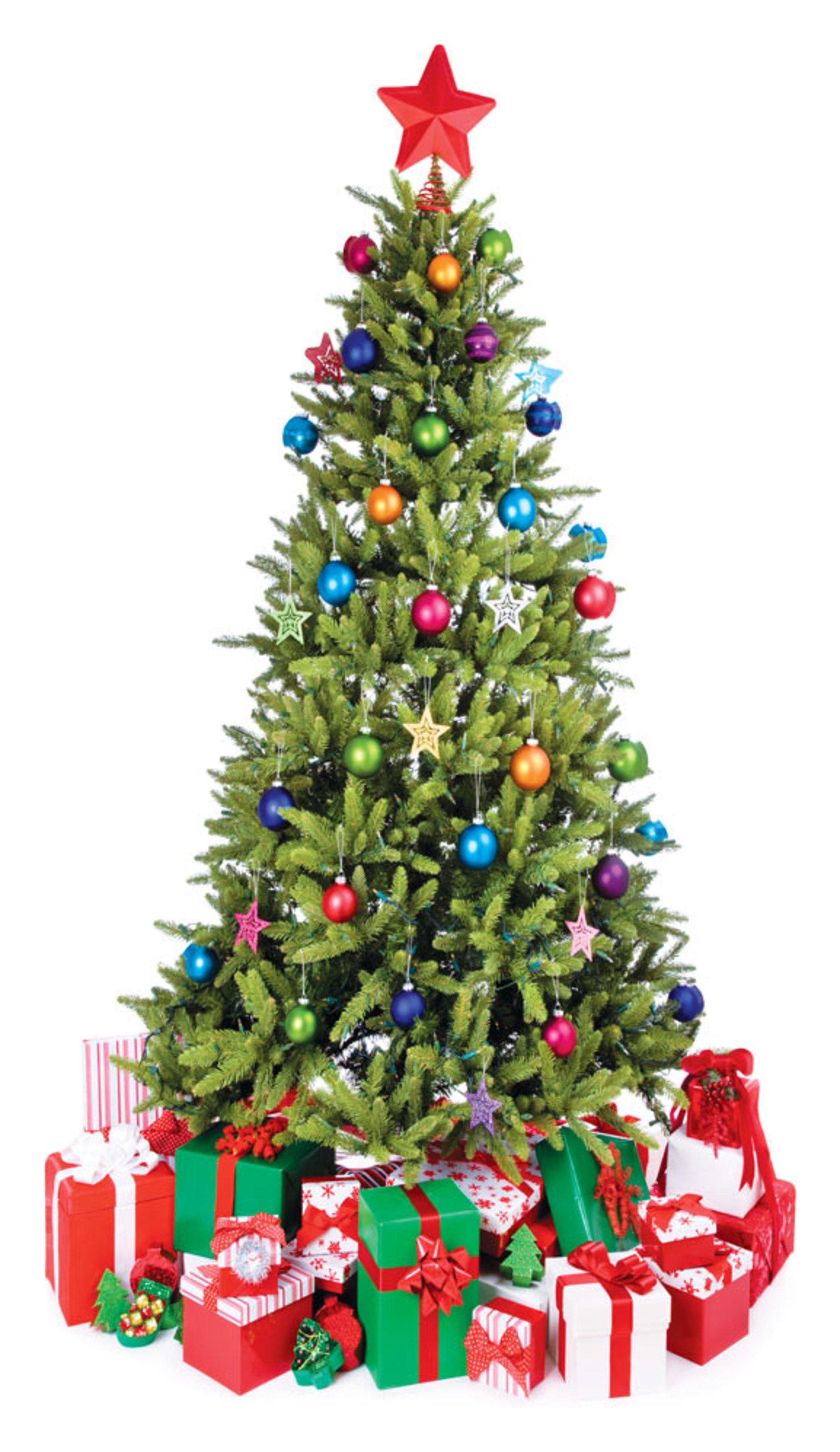 Image of Star Cutouts Christmas Tree