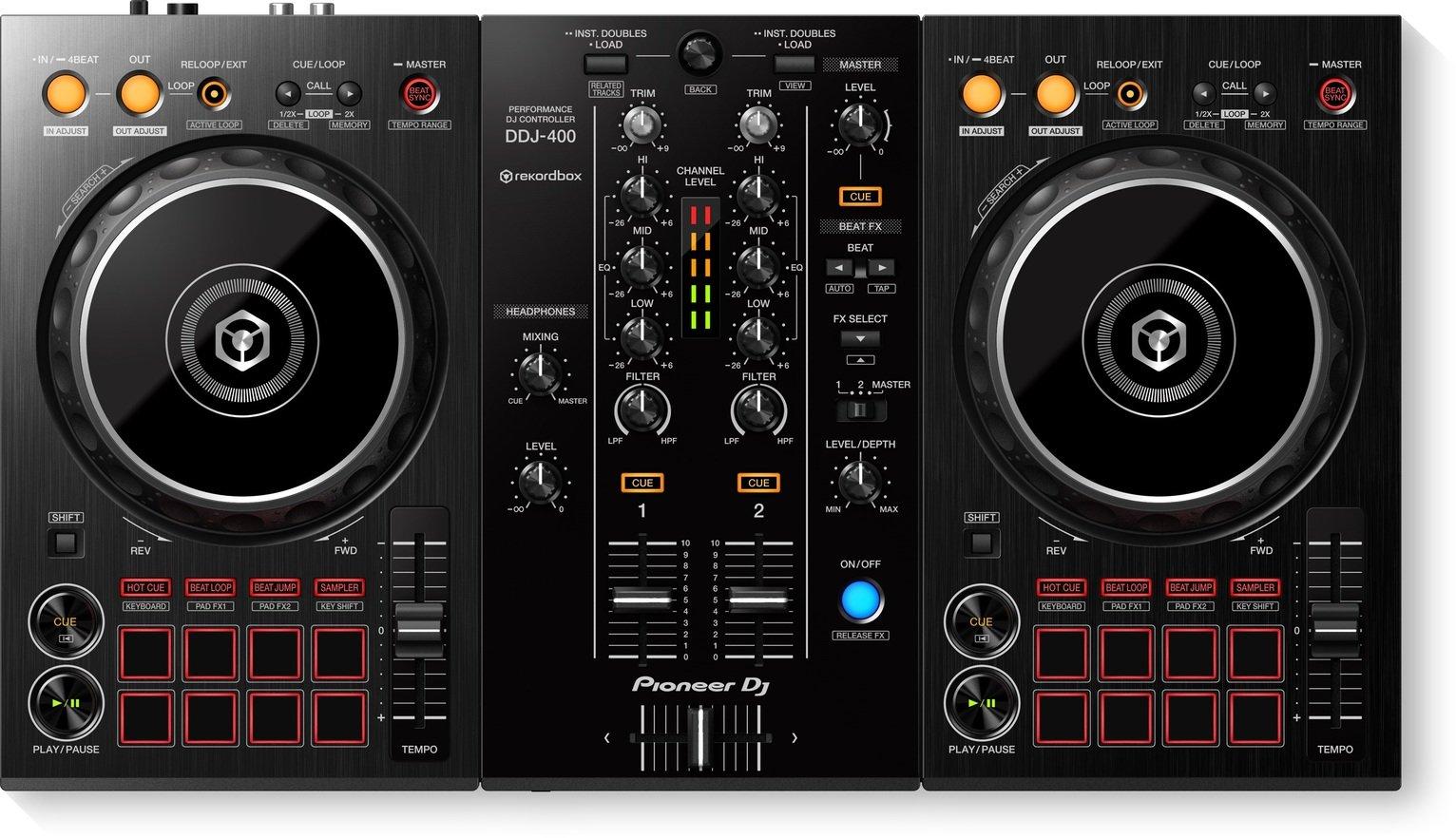 Pioneer DDJ-400 2 Channel DJ Controller