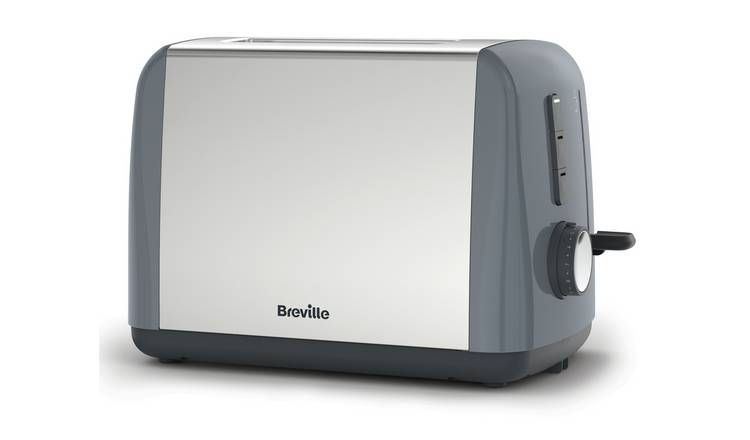 Breville ITT989 Stainless Steel 2 Slice Toaster - Grey