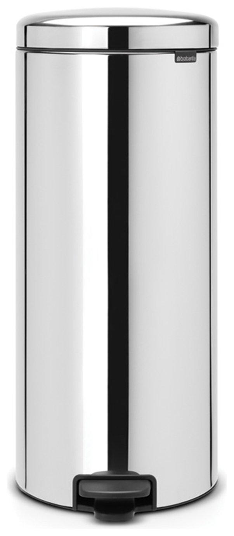 Brabantia New Icon 30 Litre Bin - Brilliant Steel