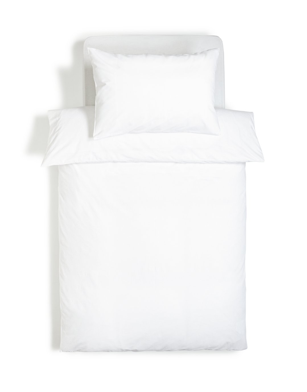Argos Home Brushed Cotton Bedding Set - Single