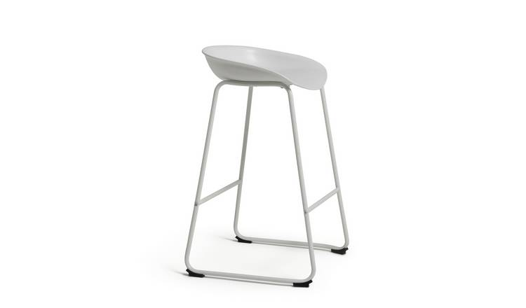 Habitat Nexa Bar Stool - White