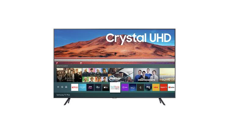 Samsung 55 Inch UE55TU7100 Smart Ultra HD TV - Carbon Silver