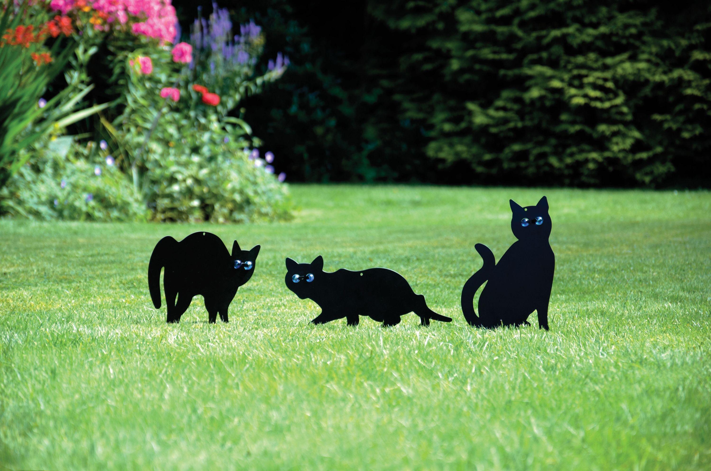 Set of 3 Garden Cat Scarers. lowest price