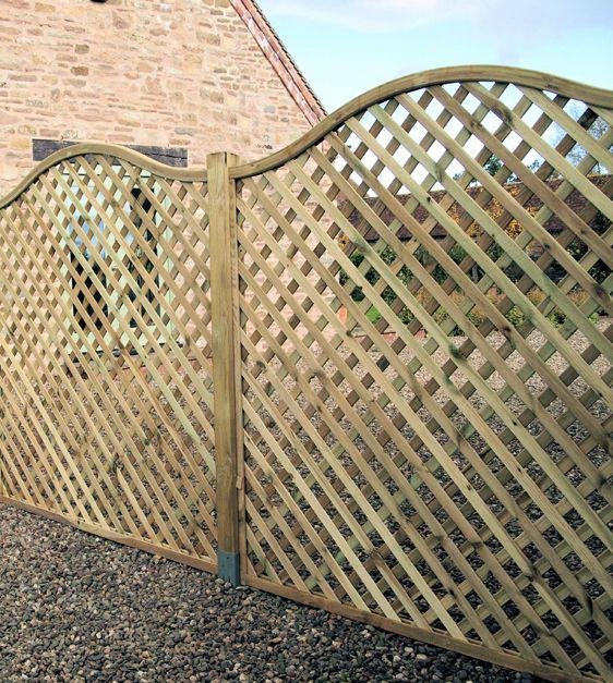 Image of Elite St Meloir Lattice Trellis - 1.8m - Pack of 4.