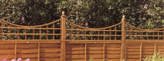 Image of Bow Trellis - 0.57m - Pack of 4.