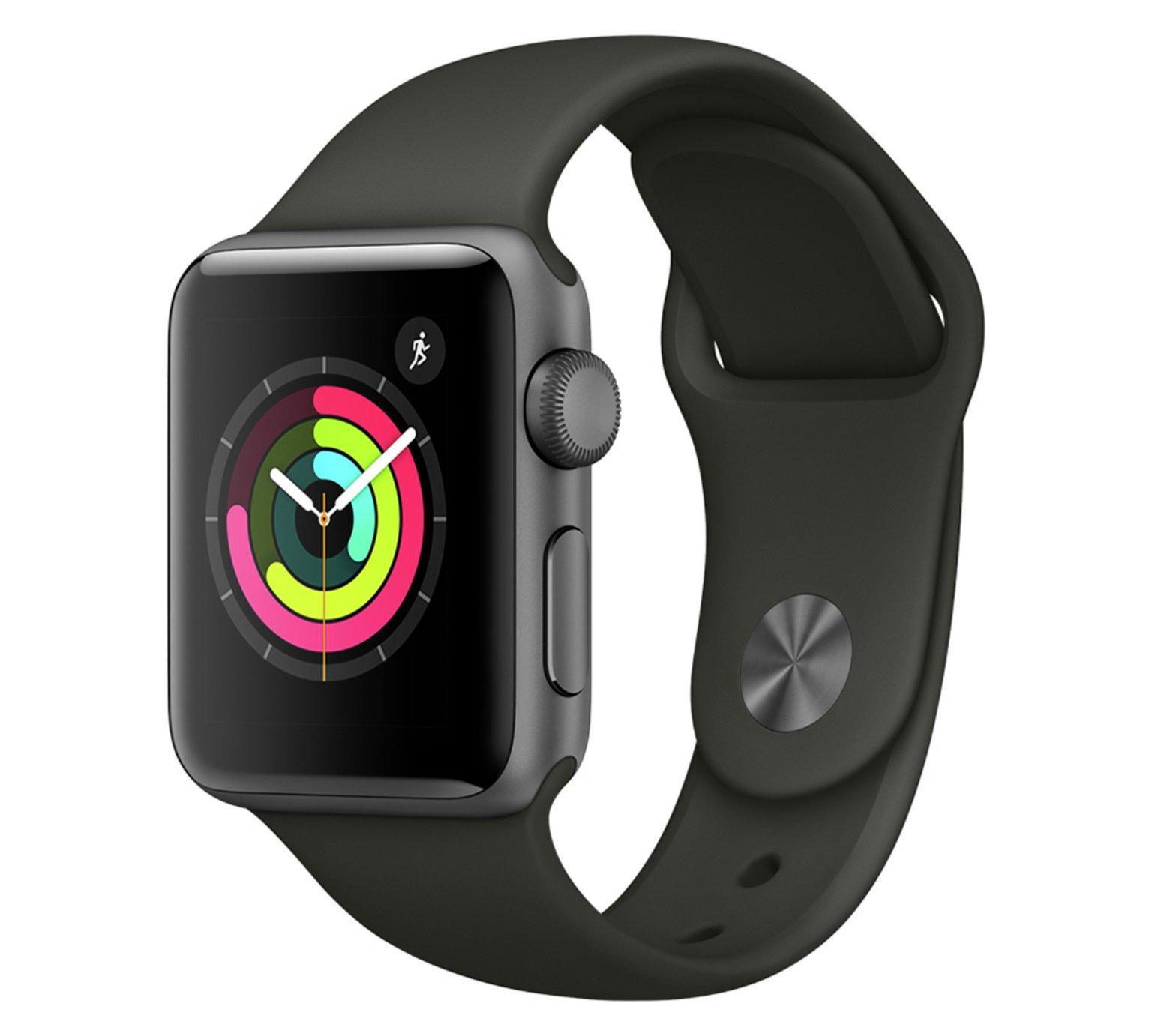 Apple Watch S3 GPS 42mm - Space Grey Aluminium / Grey Band