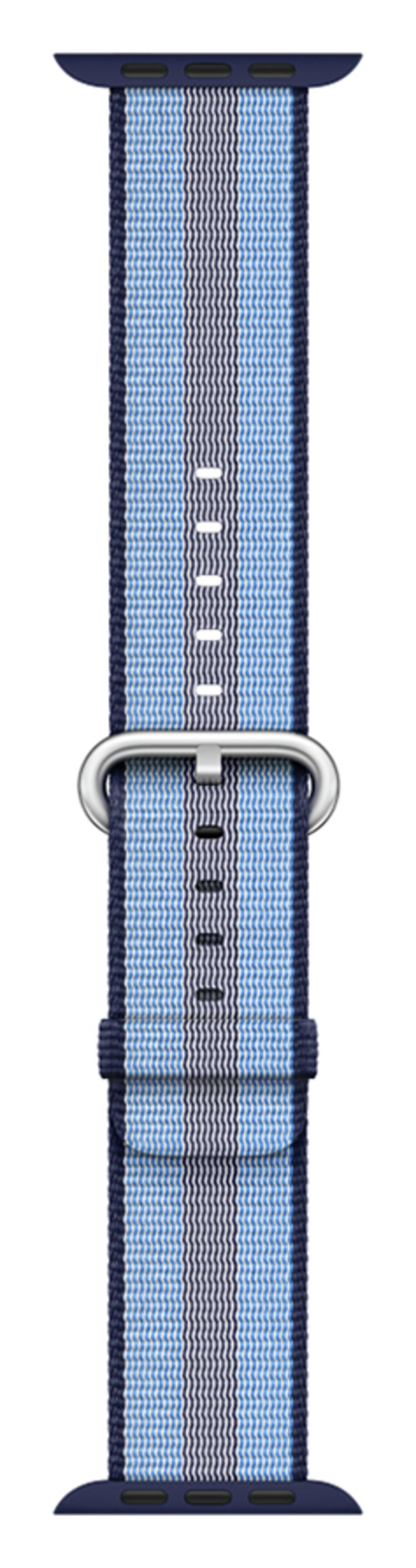 Apple Watch S3 38mm Midnight Blue Check Woven Nylon Band cheapest retail price