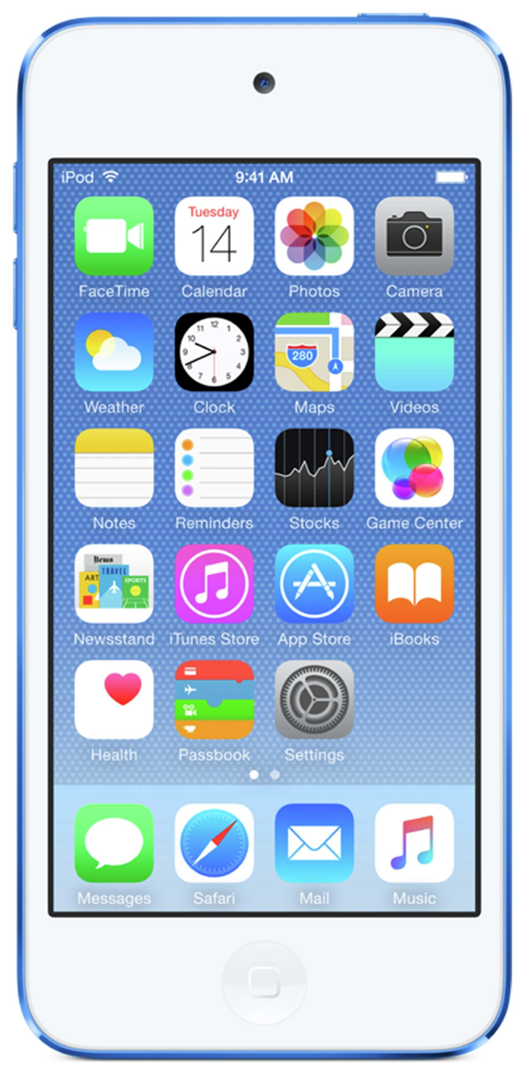 Apple iPod Touch 6th Generation 128GB - Blue cheapest retail price