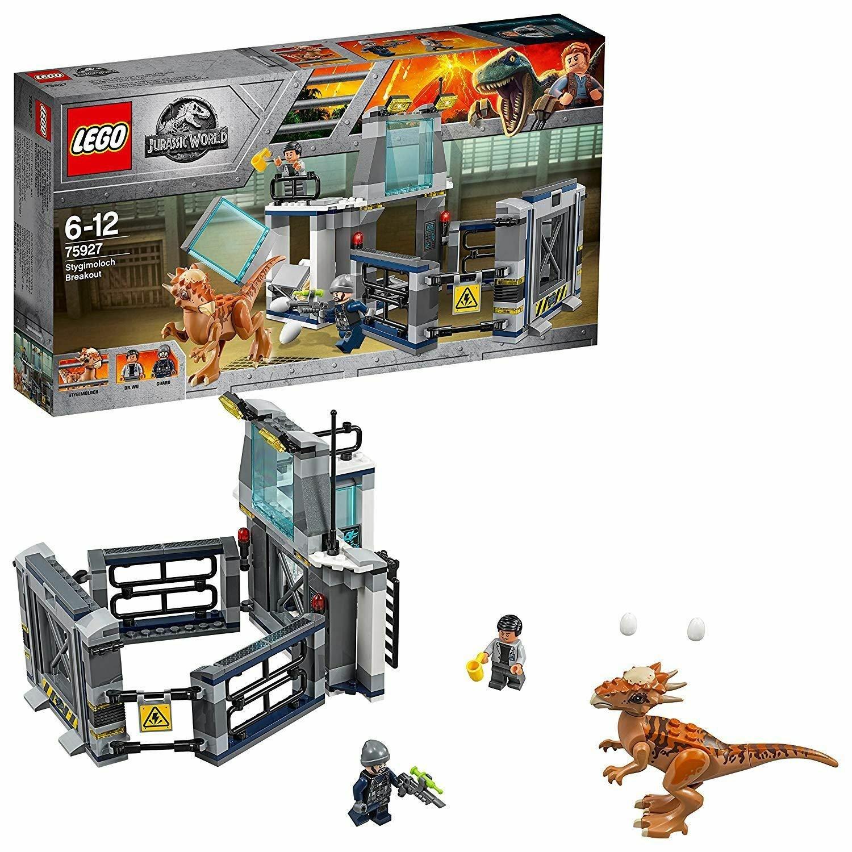 LEGO Jurassic World Stygimoloch Breakout Dinosaur Toy- 75927