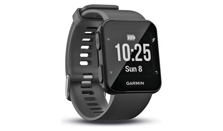 Buy Garmin Forerunner 30 GPS Running Watch - Slate Grey  9ea831f20f