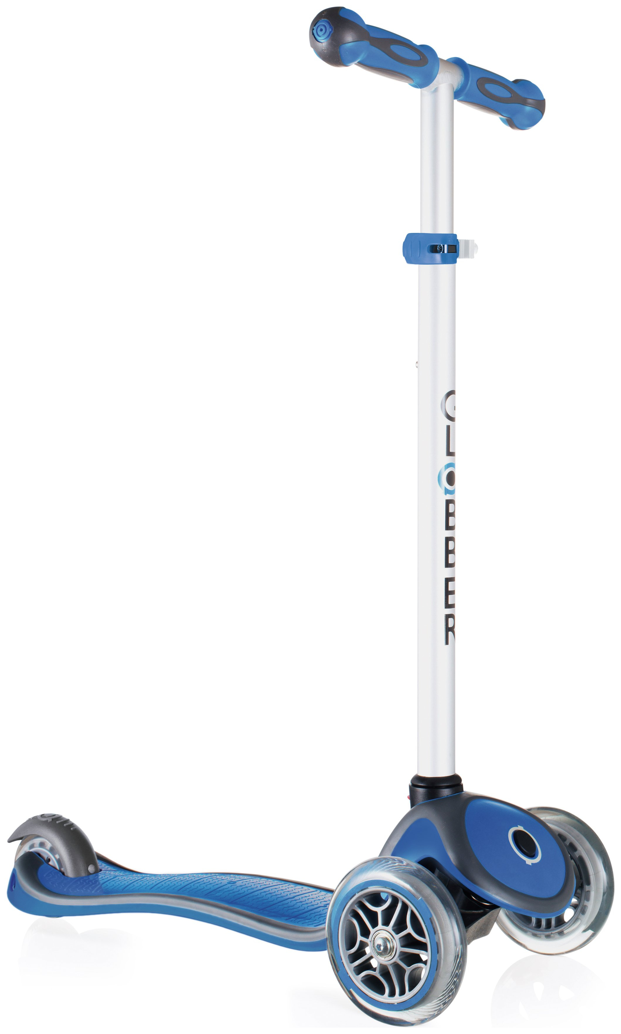 Globber Primo Plus 3 Wheel Scooter - Navy Blue
