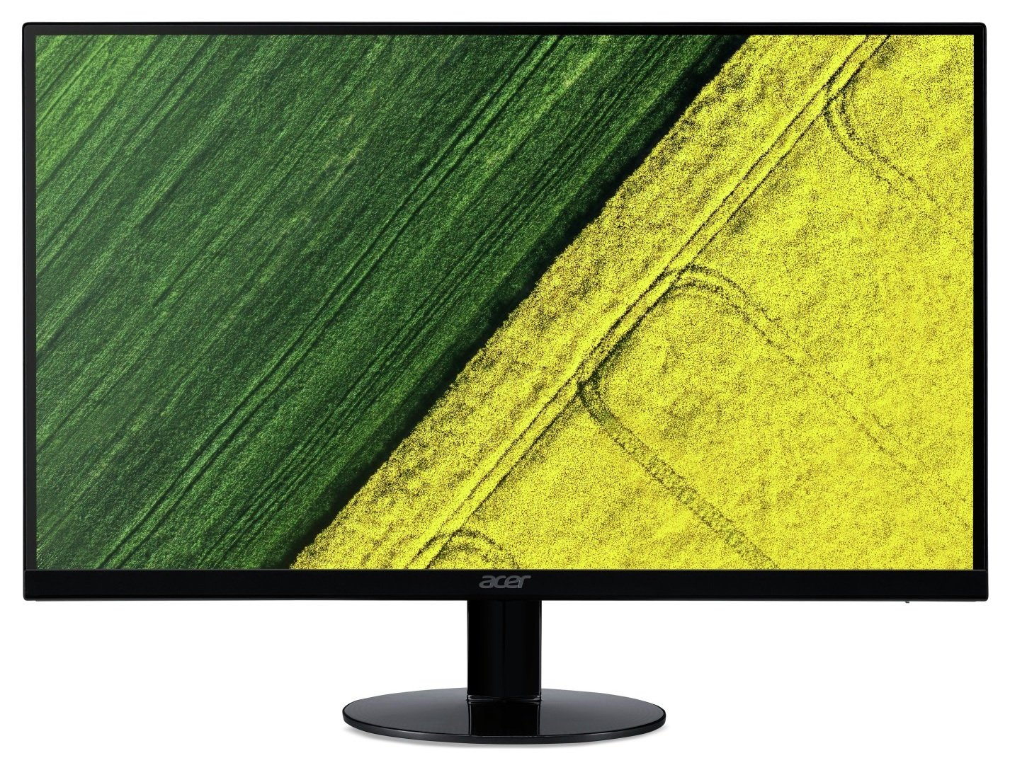 Image of Acer SA24 24 Inch LED ZeroFrame Monitor - Black