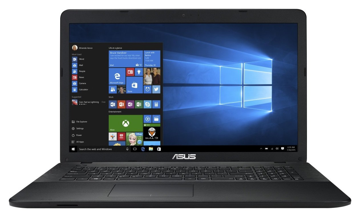 Image of Asus 17.3 Inch Celeron 8GB 1TB Laptop