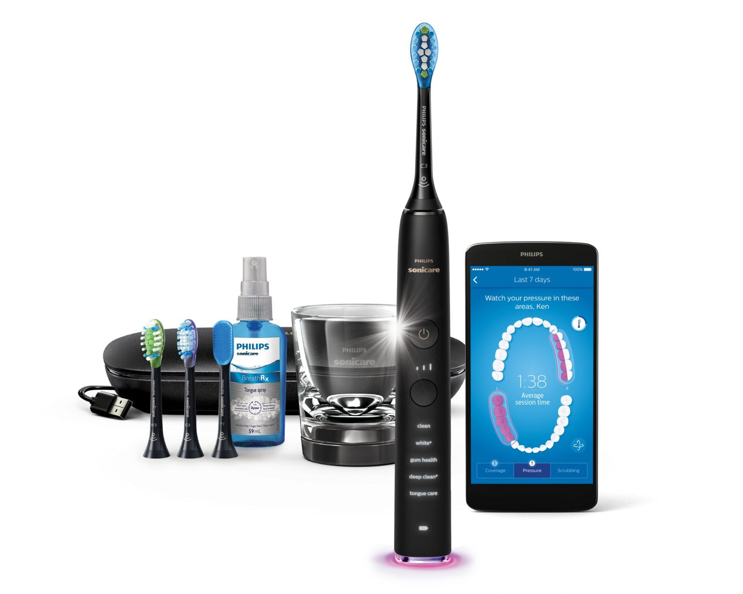 Philips Sonicare DiamondClean Smart Black HX9924/14