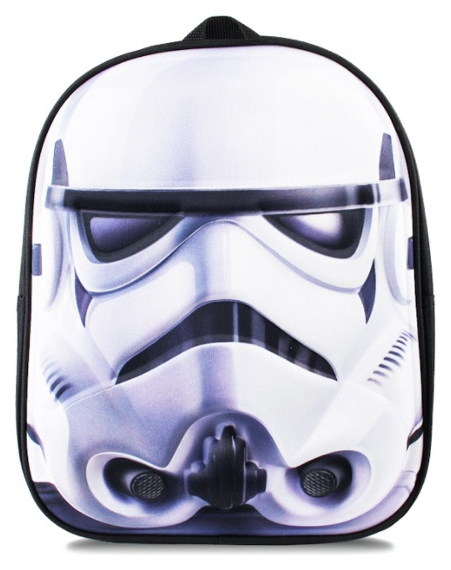Star Wars Trooper Face Backpack review