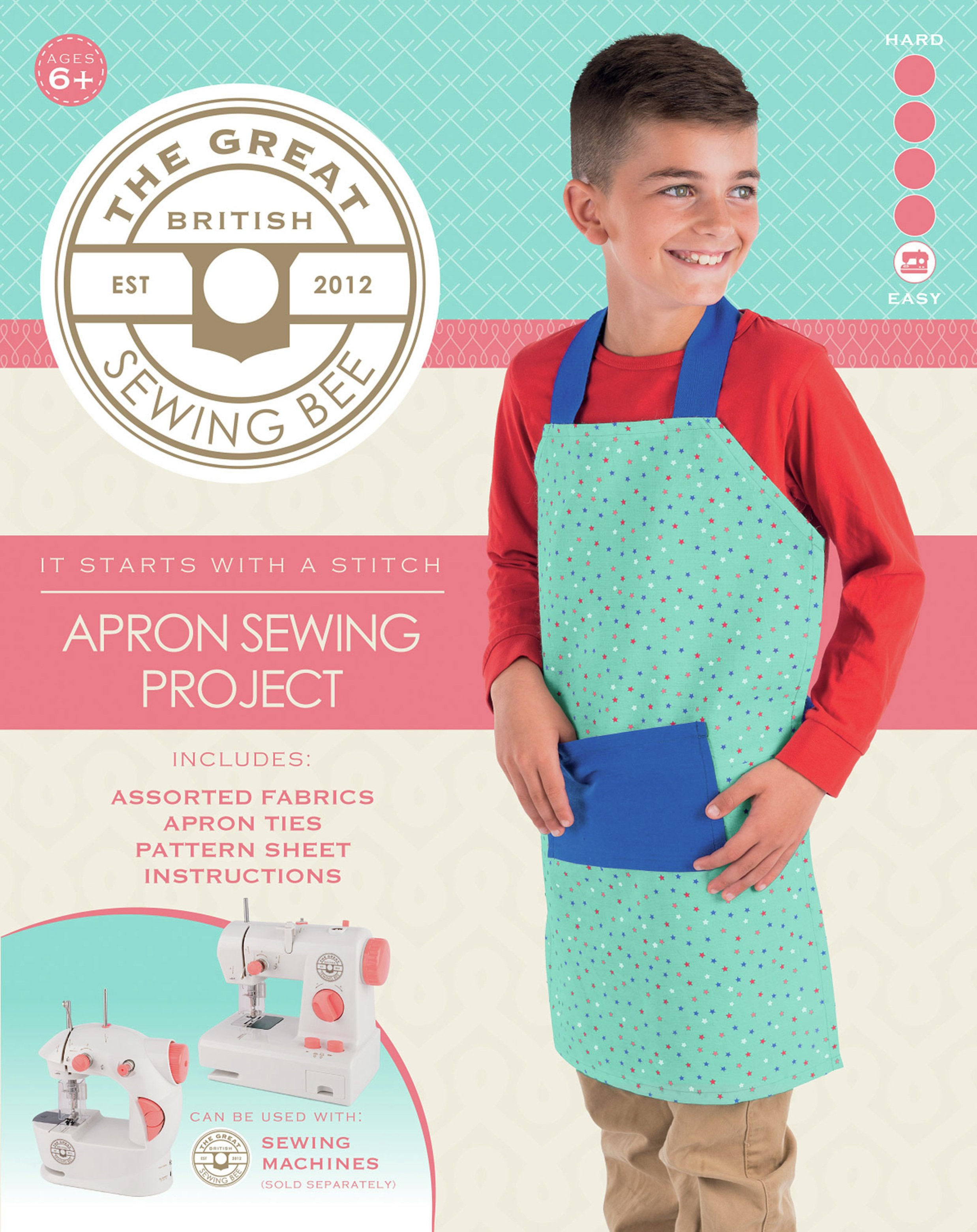 Great British Sewing Bee Apron Kit.