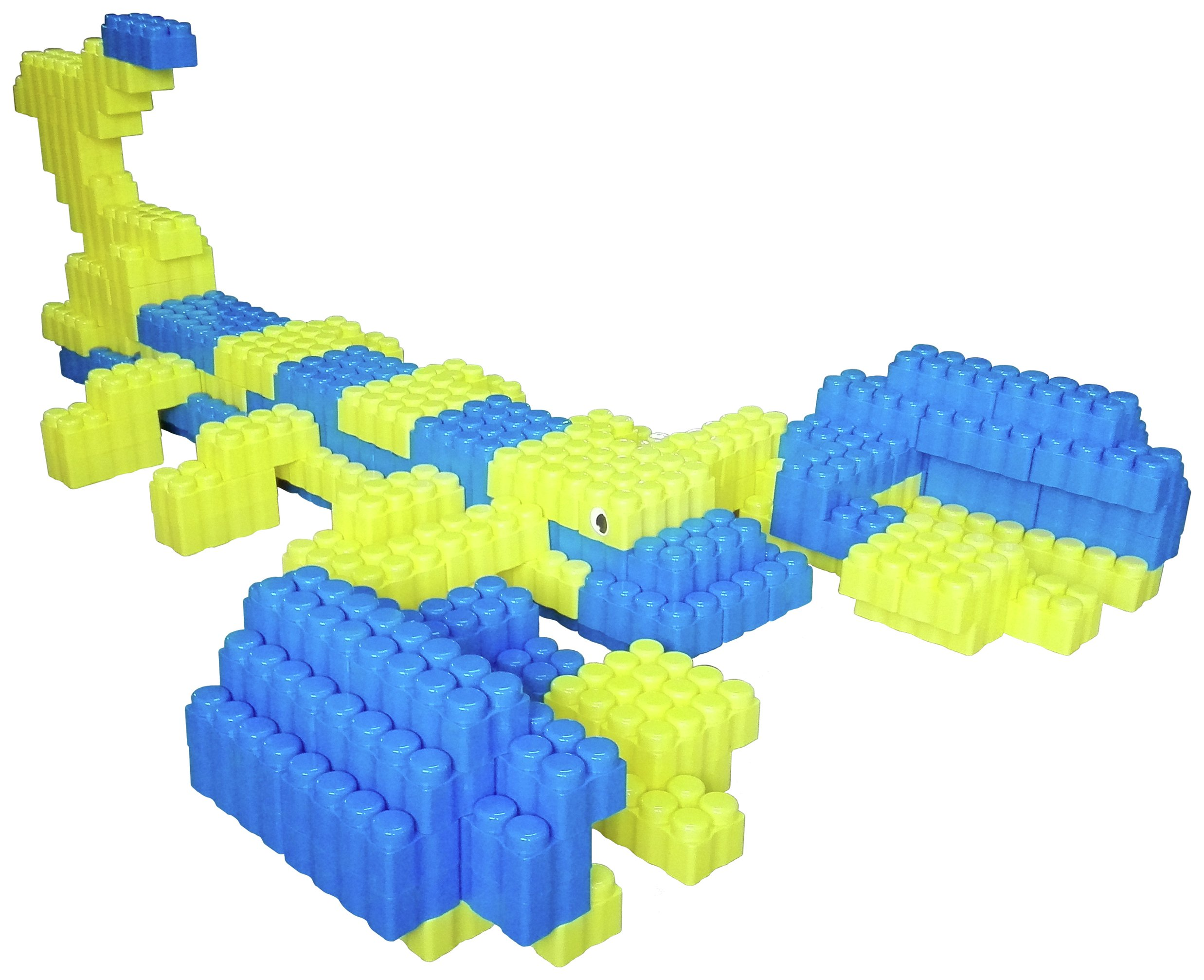 Game Movil Giant Blocks Scorpion Construction Toy-192 Pieces review