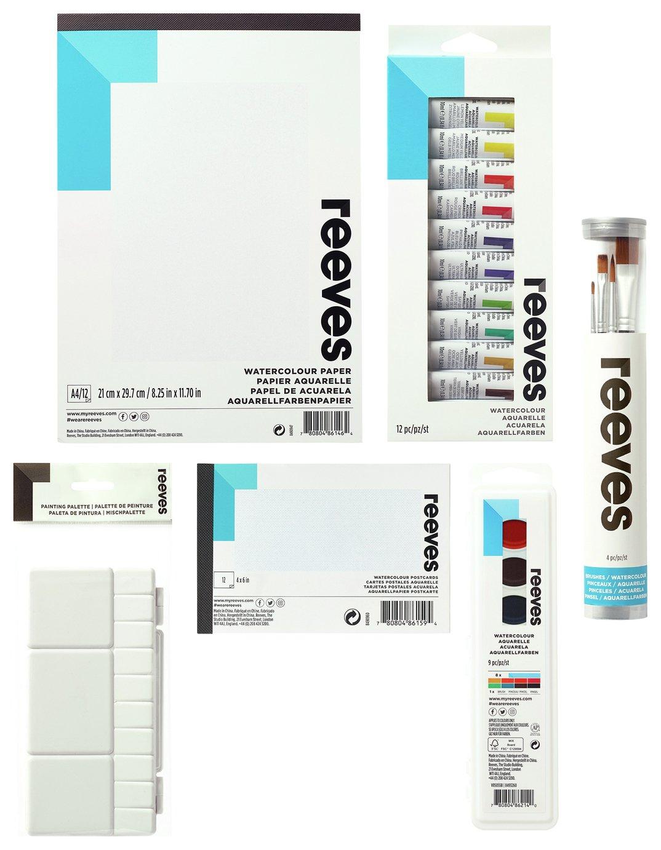 Reeves Watercolour Super Bundle Set