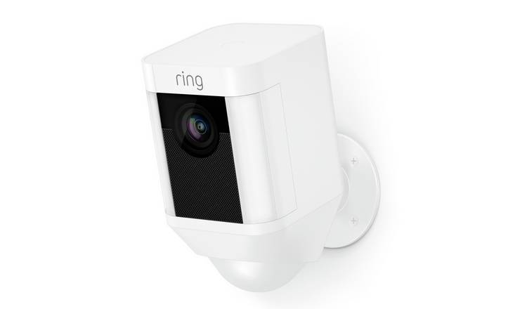 Ring Spotlight Cam Battery - White