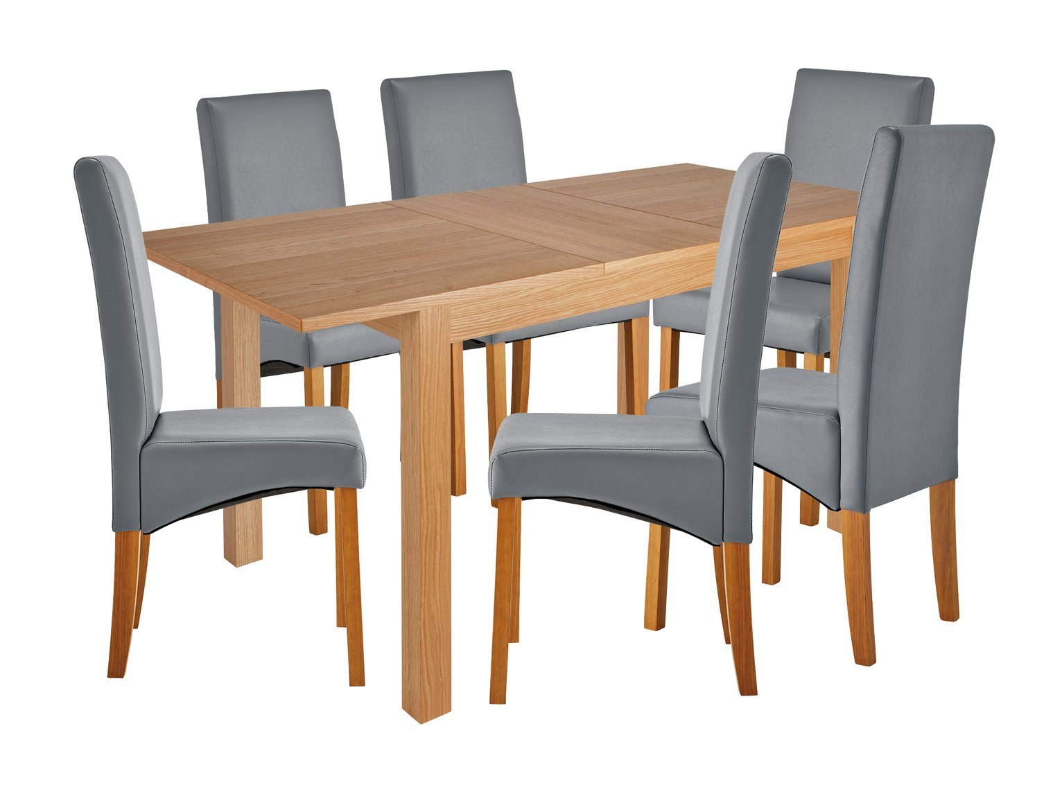 Collection Clifton Large Extendable Table Amp 4 Chairs Grey