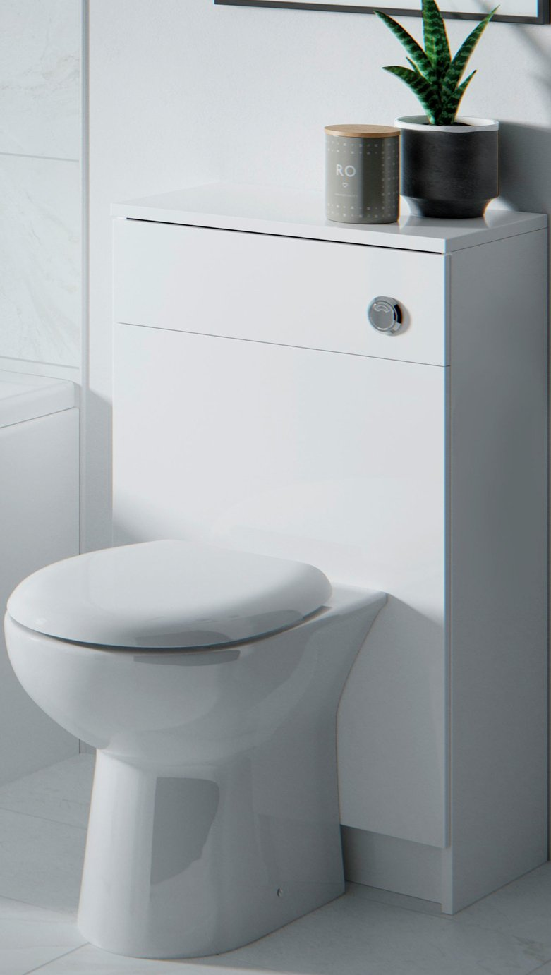 Lavari Optima WC Unit with Pan and Standard Seat