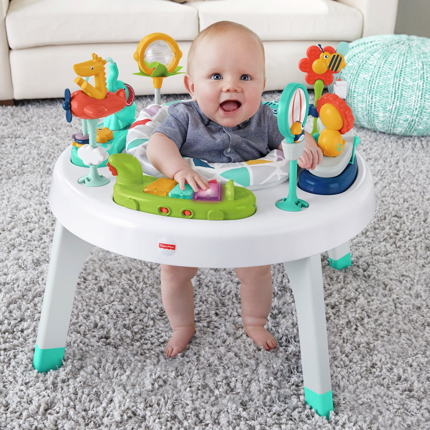 Image of Fisher-Price 2-in-1 Sit-To-Stand Activity Centre