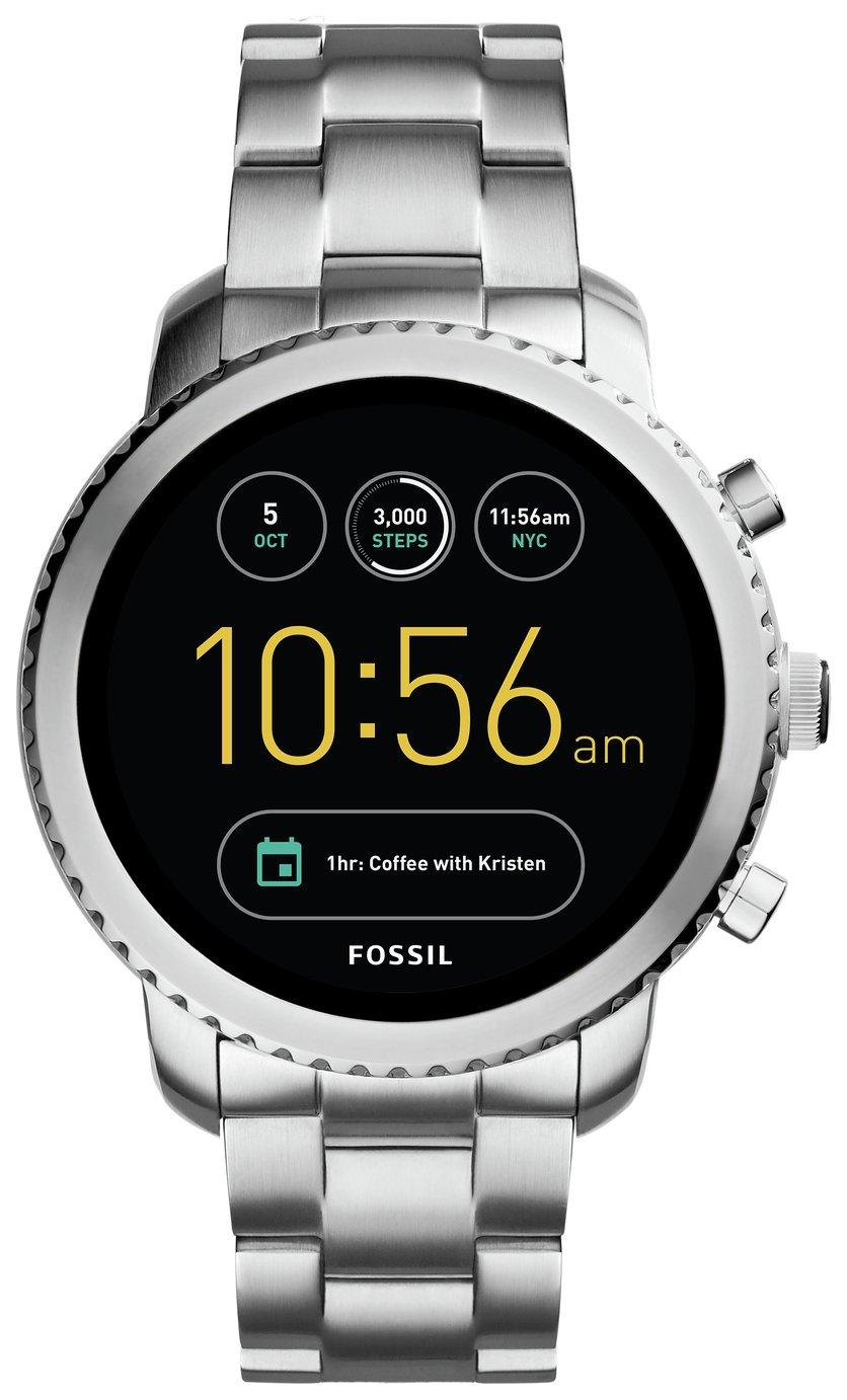 Image of Fossil Q Gen3 Smart Watch - Silver