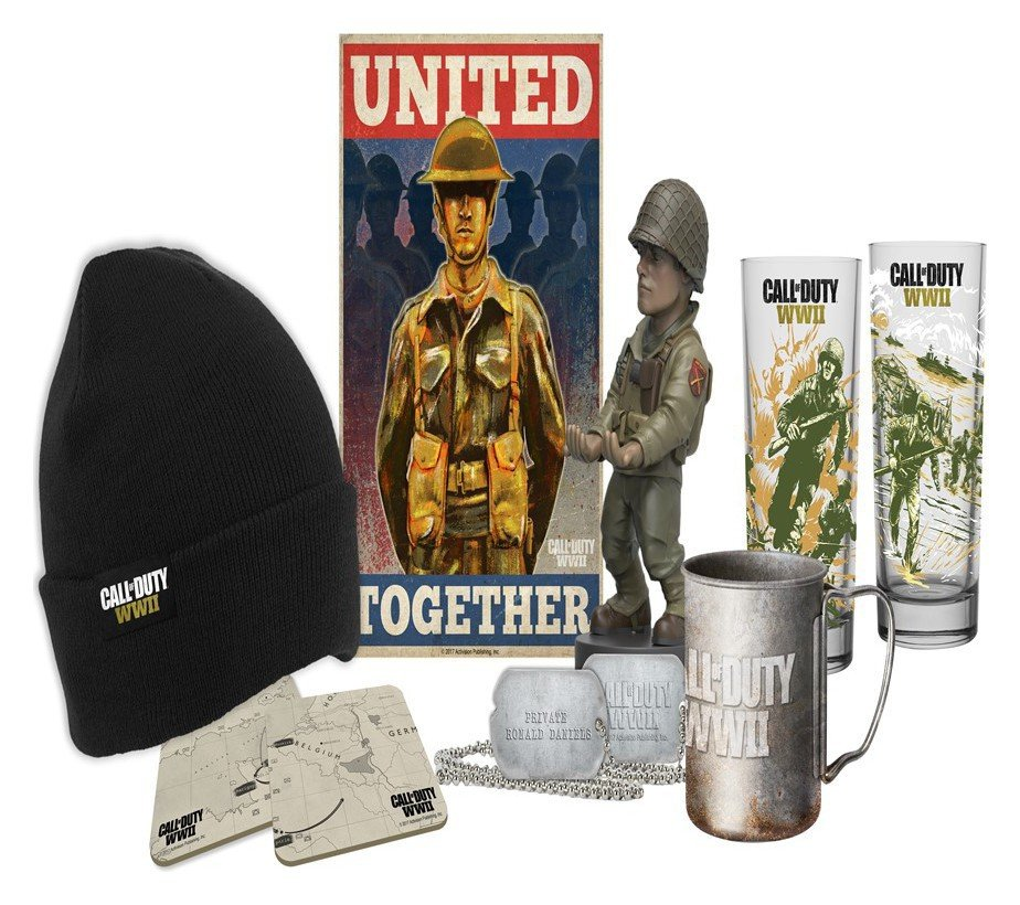 Image of Big Box Call of Duty WW2 Collectables Loot Crate