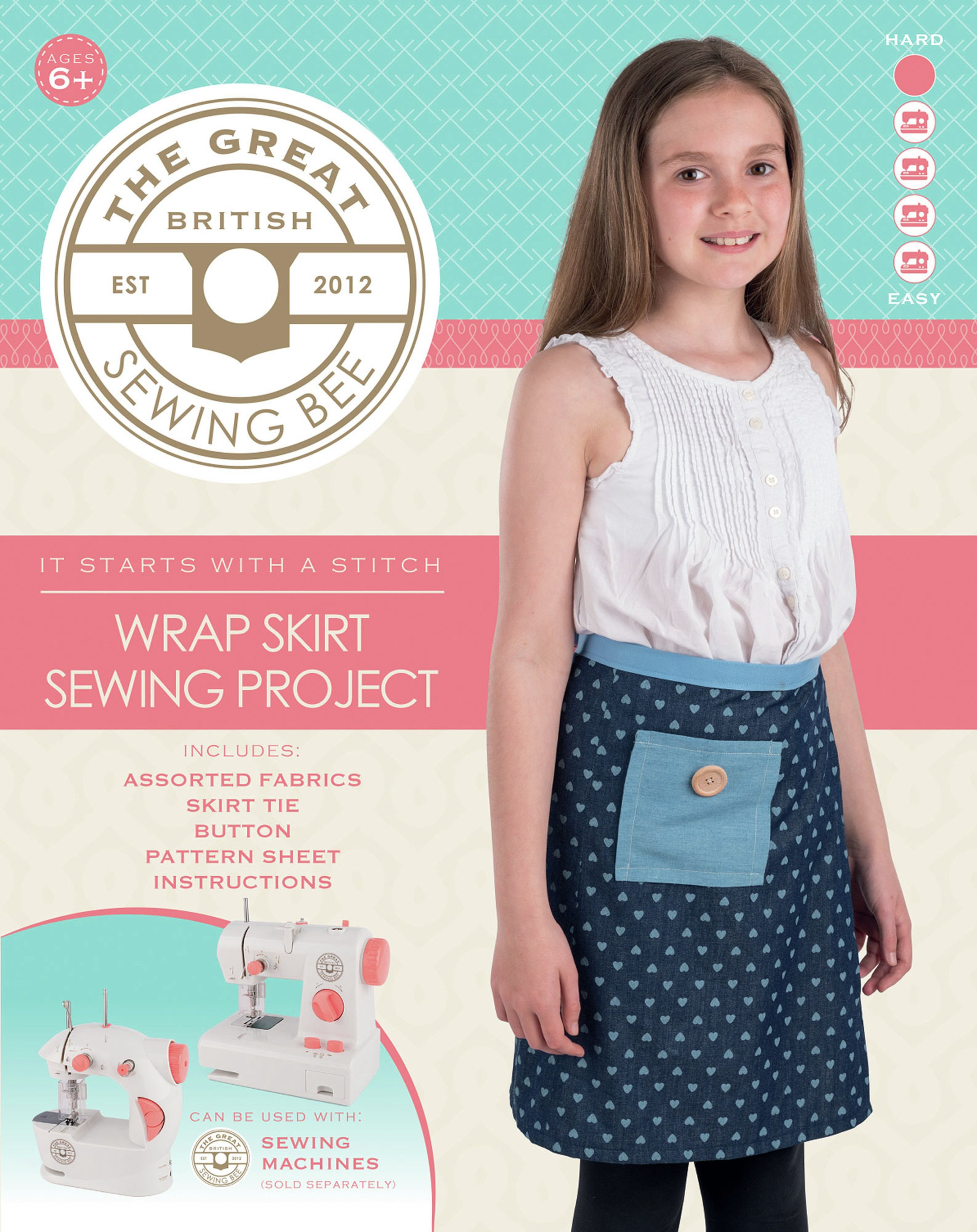 Great British Sewing Bee Wrap Skirt Kit
