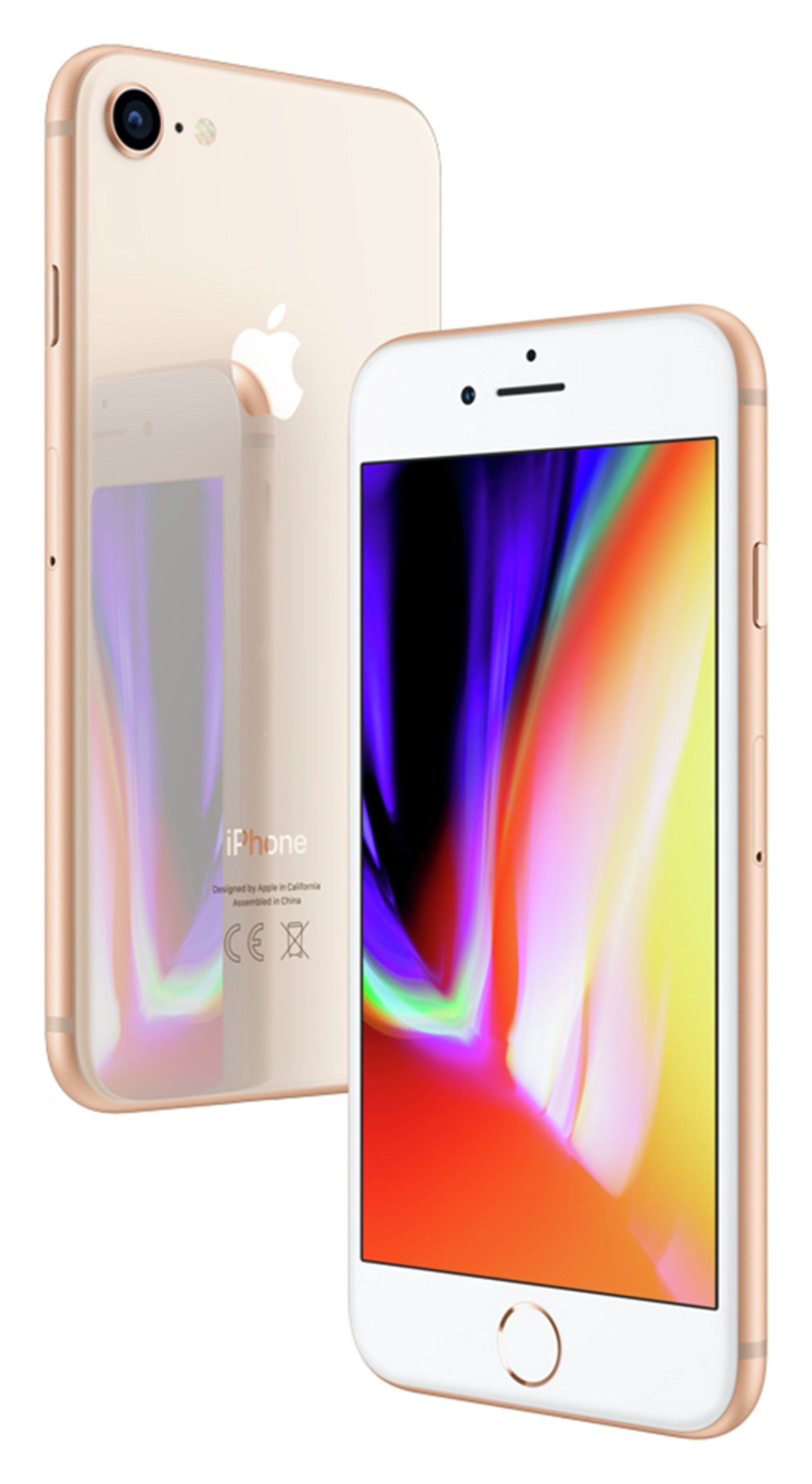 Apple Sim Free iPhone 8 256GB Mobile Phone - Gold