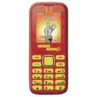 Sim Free Lexibook Avengers Iron Man Mobile Phone - Red